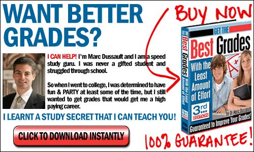 Get Better Grades