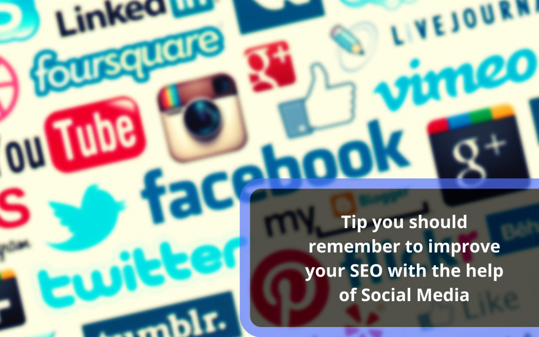 Tip You Should Remember To Improve Your Seo With The Help Of Social Media